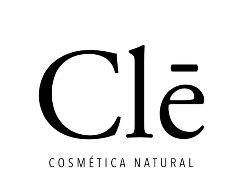 Identidad corporativa Naming, logotipo y packaging Clē cosméticos naturales 1