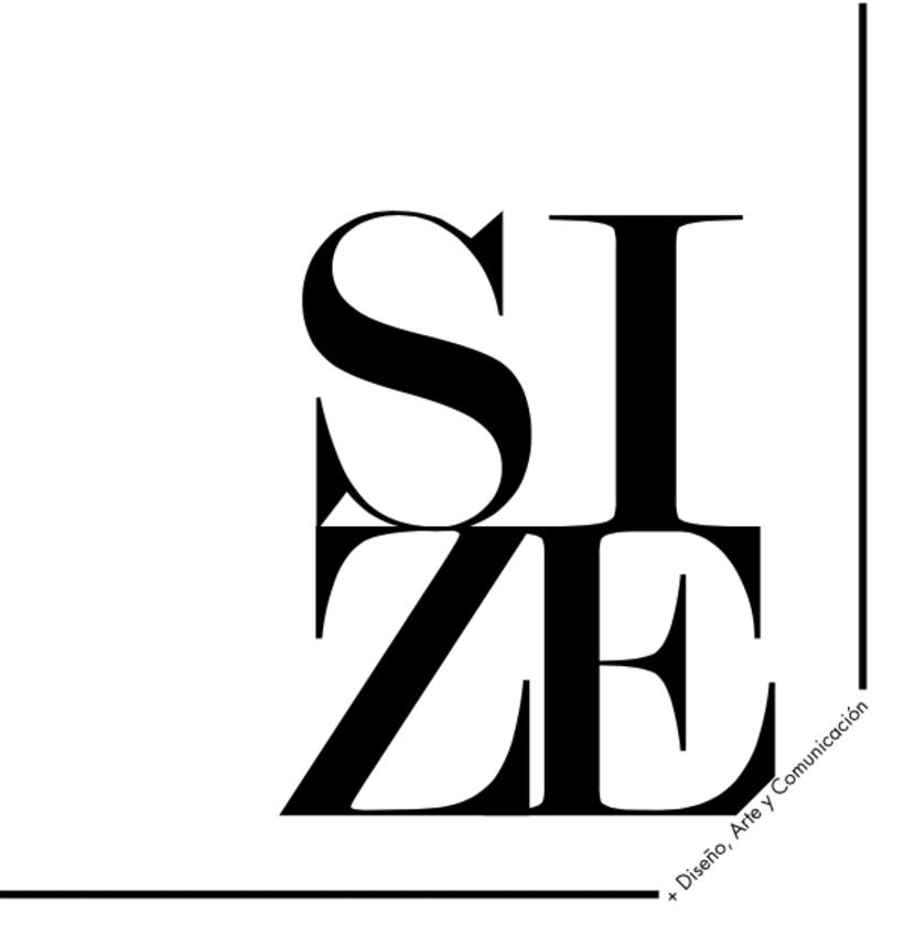 Editorial Naming maquetación de portada e interiores Revista SIZE 1