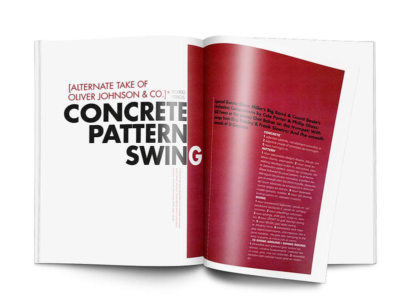 Editorial Naming maquetación de portada e interiores Revista SIZE 3