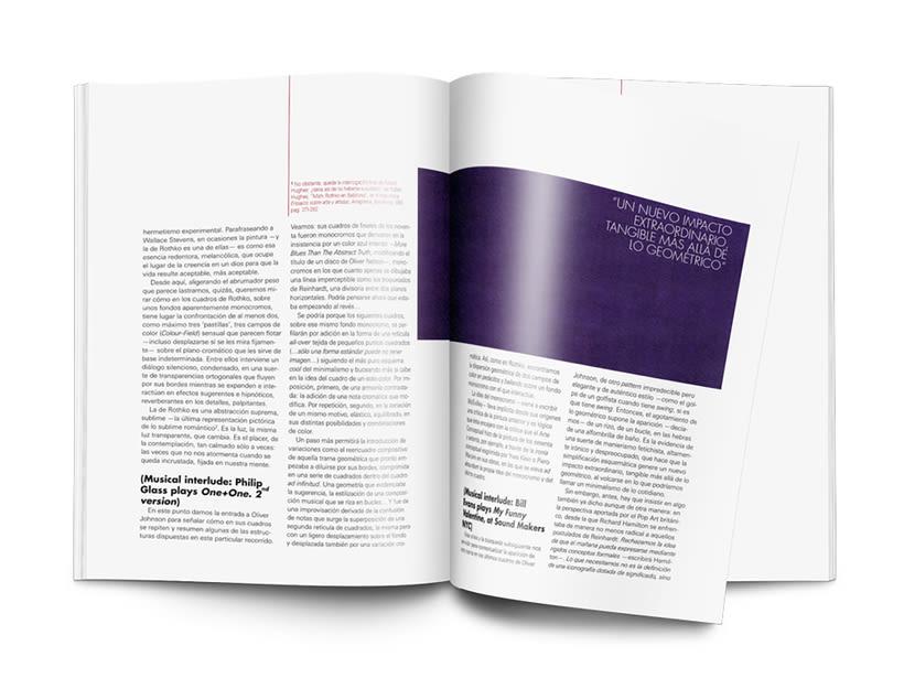 Editorial Naming maquetación de portada e interiores Revista SIZE 5