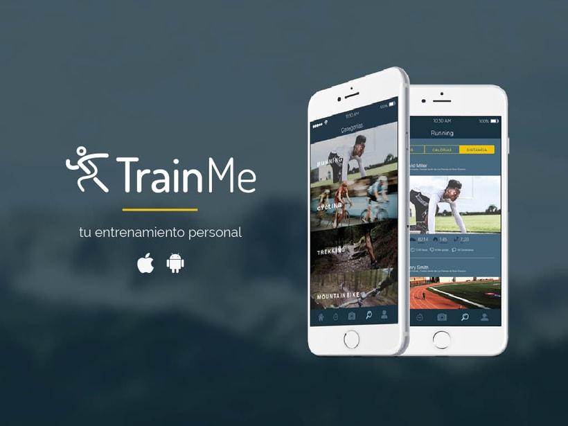 TrainMe, tu entrenamiento personal 0