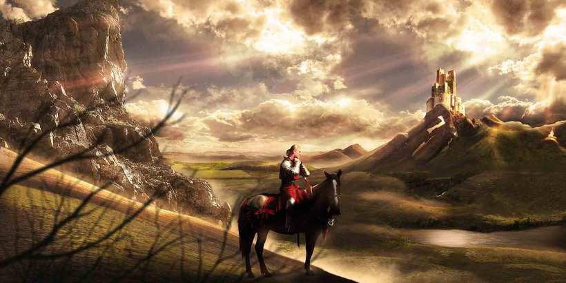 El descans del cavaller | rosasunba -1
