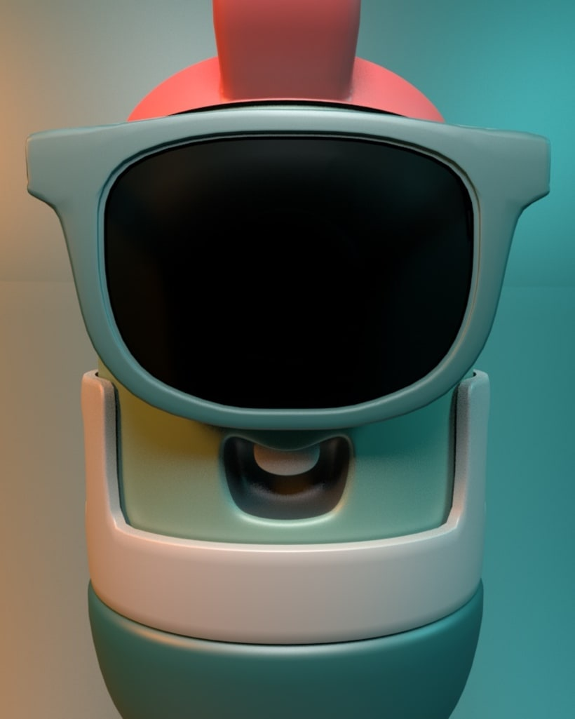 Mi Proyecto del curso: Introducción exprés al 3D: de cero a render con Cinema 4D 1
