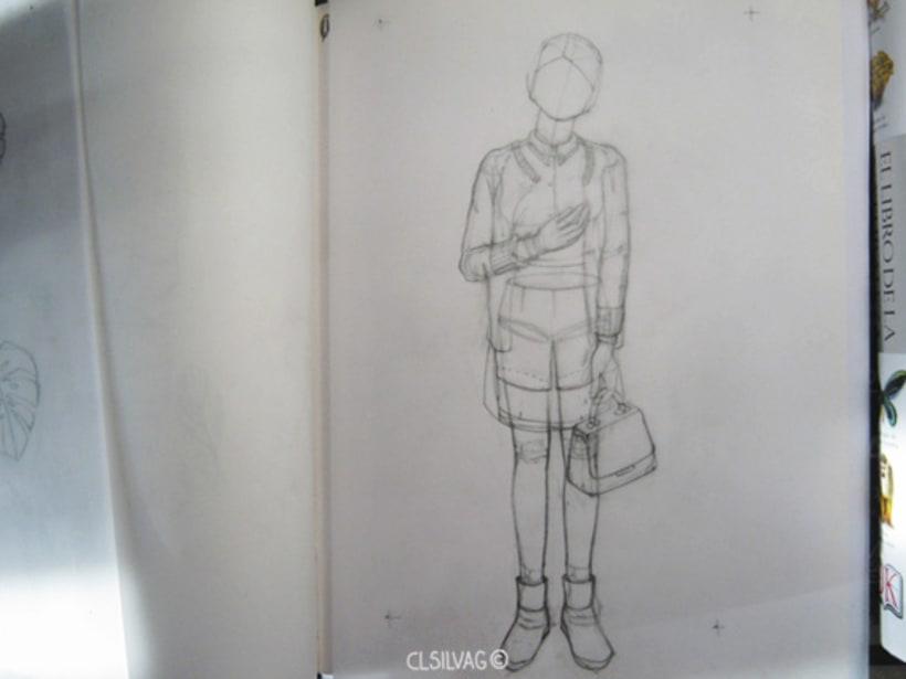 Mi Proyecto del curso: Ilustración original de tu puño y tableta - La incógnita 1
