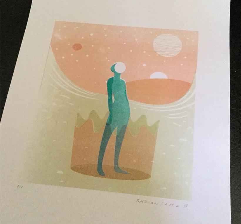"""Ilustración """"Elegante misticismo"""" 2"""