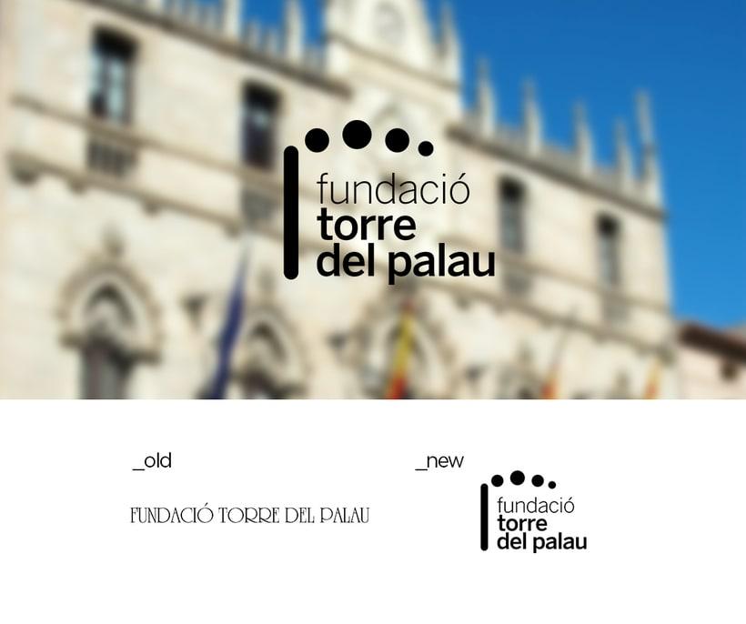 Rebranding: Fundació Torre del Palau 0