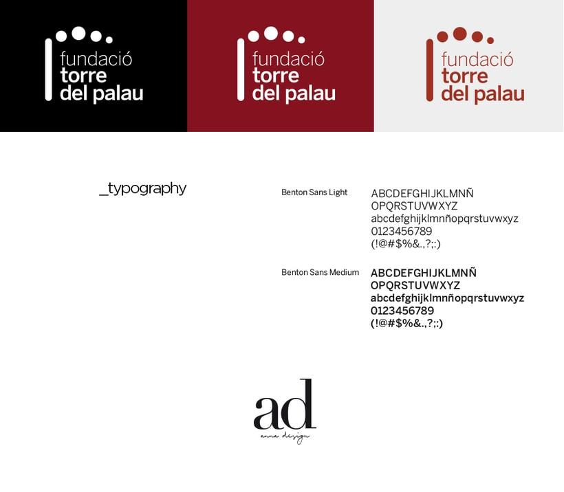 Rebranding: Fundació Torre del Palau 1