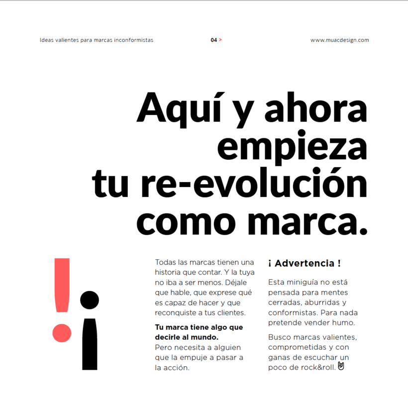 Formulario de Lead magnet + algunas páginas del ebook de Muac Design 3