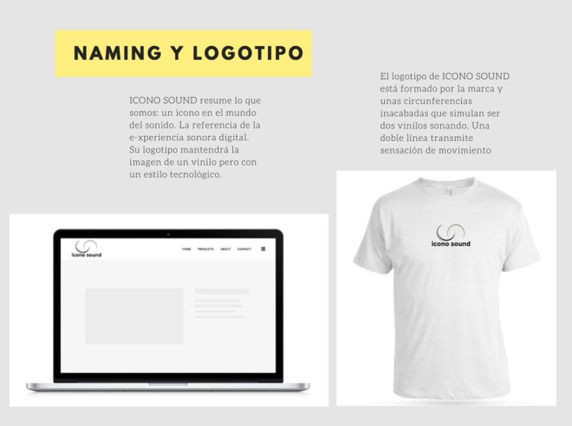 Naming + branding para Icono Music 0