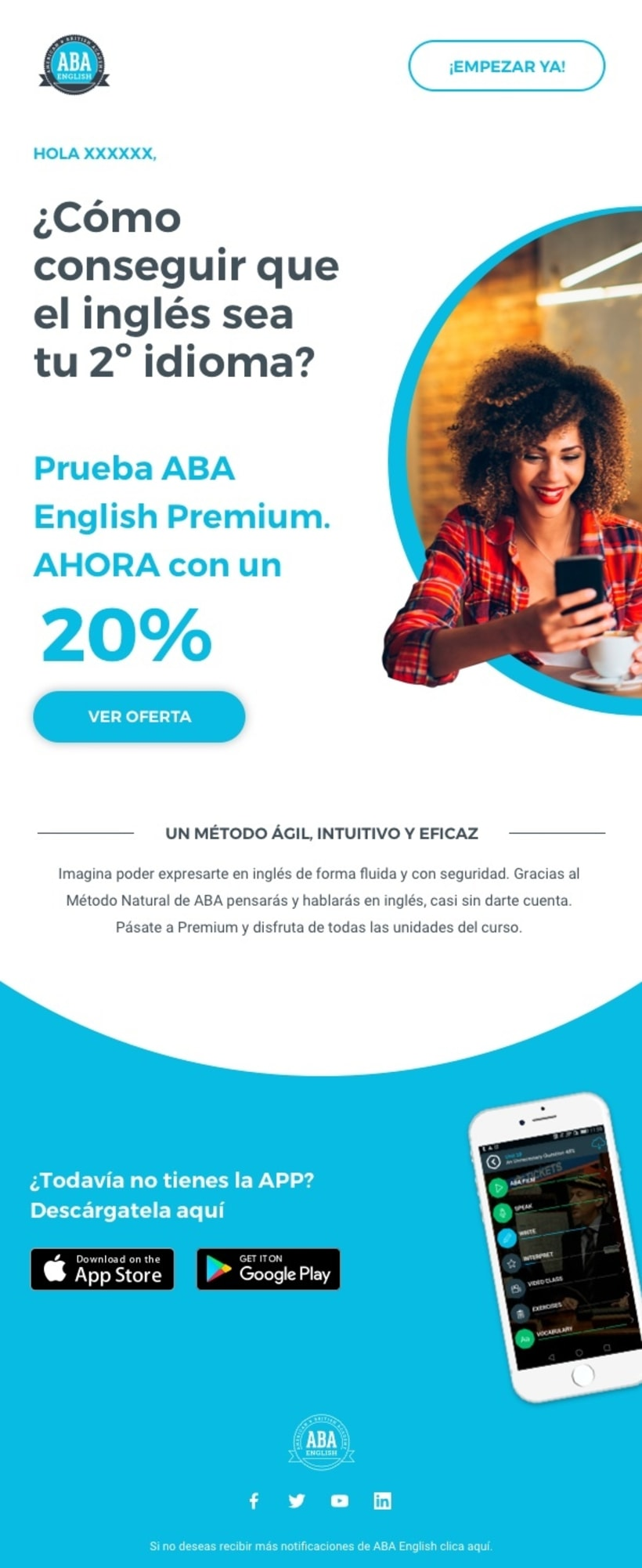 Copywriting para ABA English 3