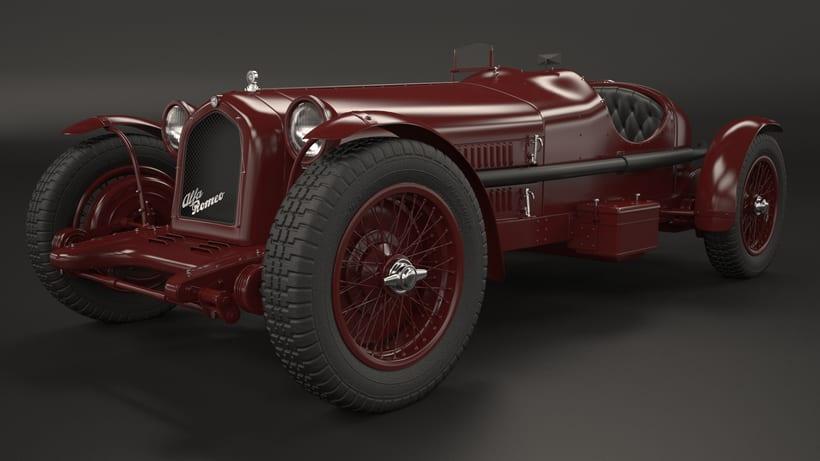 Alpha Romeo 8C Monza 1931 -1