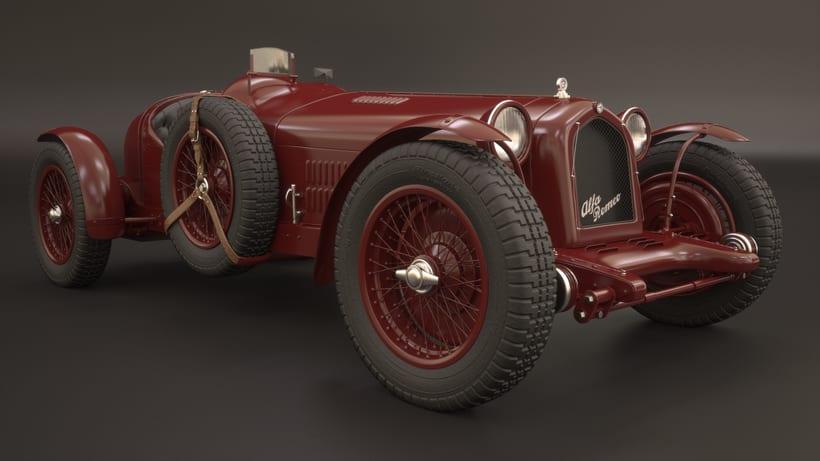 Alpha Romeo 8C Monza 1931 0
