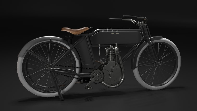 Execelsior Motorcycle 1916 -1