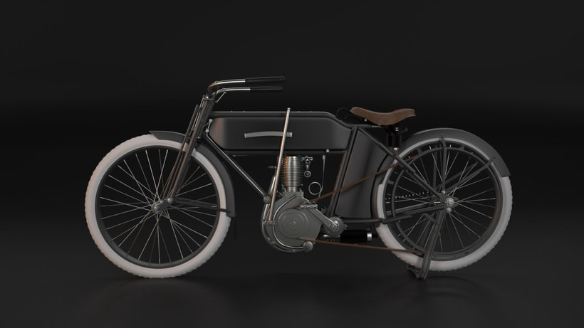 Execelsior Motorcycle 1916 1