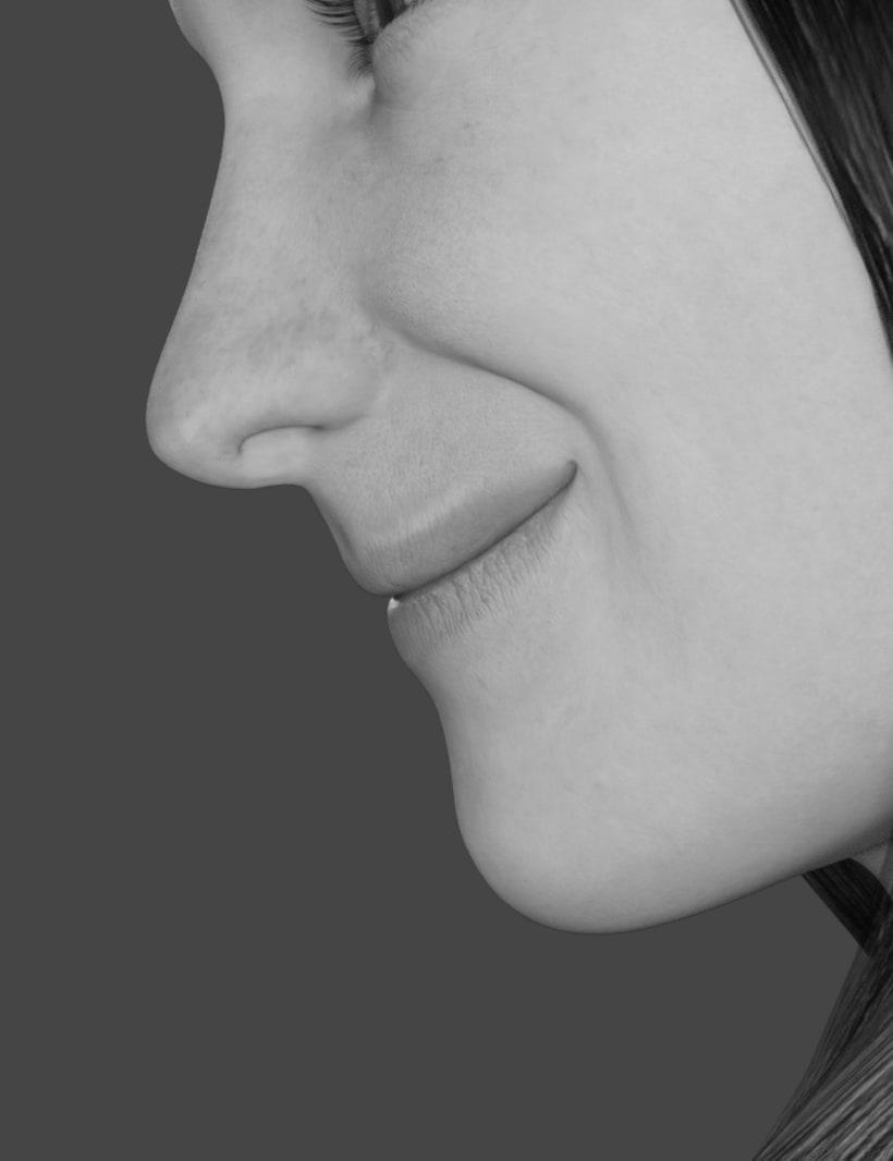 Female 3D model 3