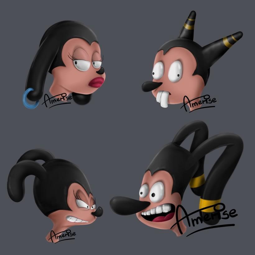 Diseño y Creación de Personajes 4