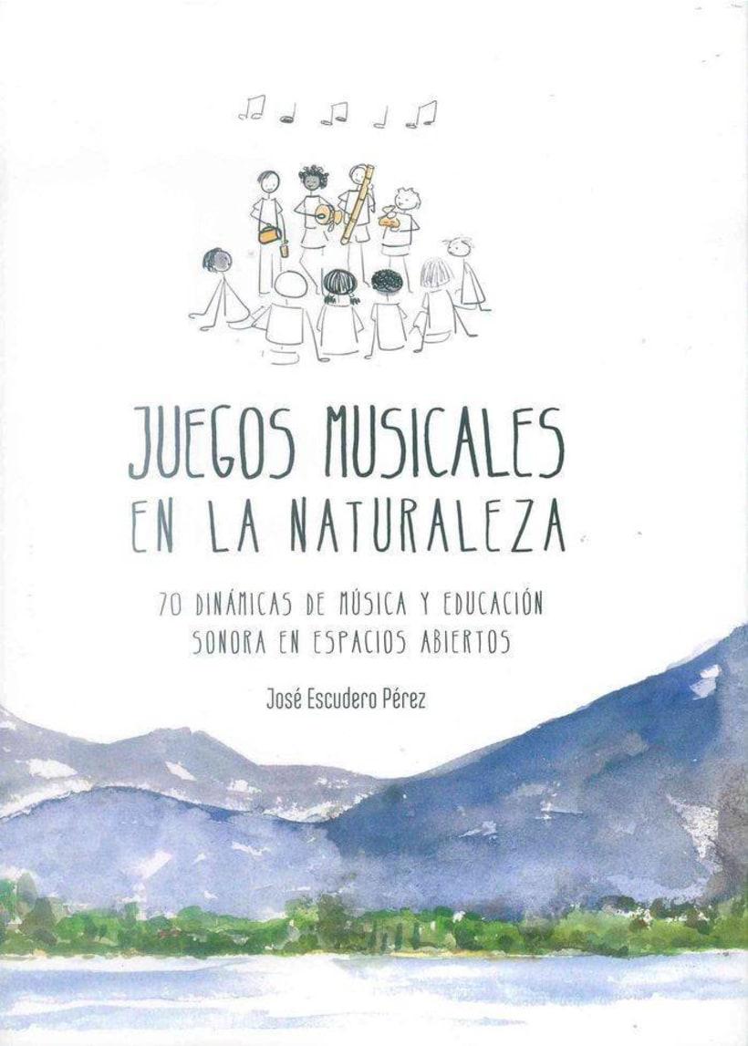 """Ilustraciones para el libro """"Juegos musicales en la naturaleza"""" 1"""