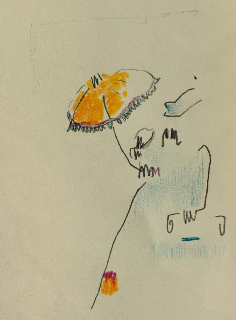 Ilustraciones del CD del cantautor López de Guereña 2