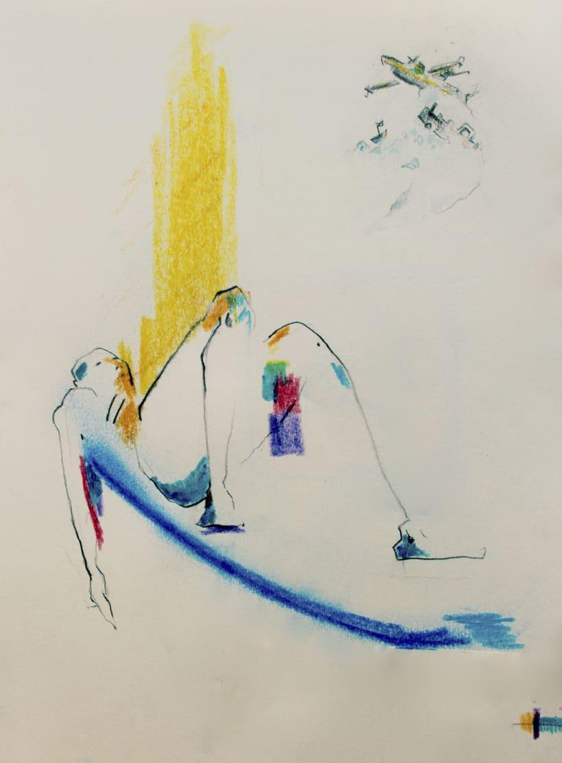 Ilustraciones del CD del cantautor López de Guereña 3