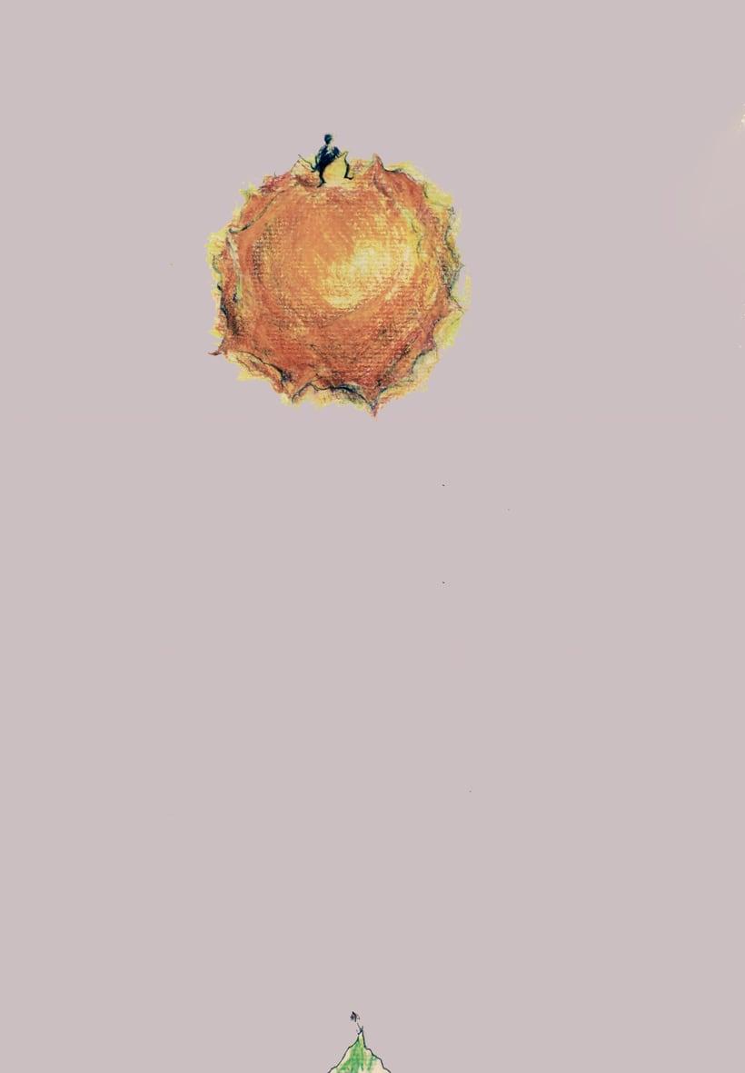 """Ilustraciones para el CD """"Hasta precisar el aire"""" de Kamankola 1"""