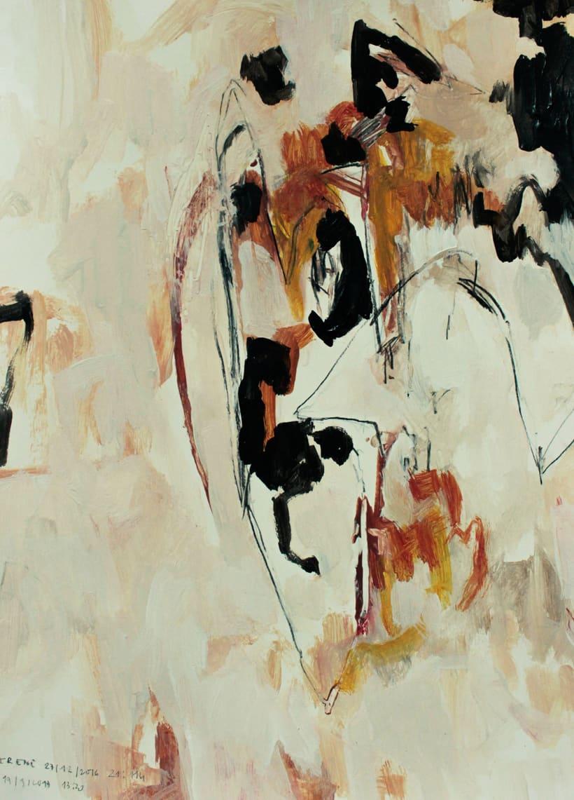 proyecto de pintura: Movimiento, cuerpo, dibujo 1