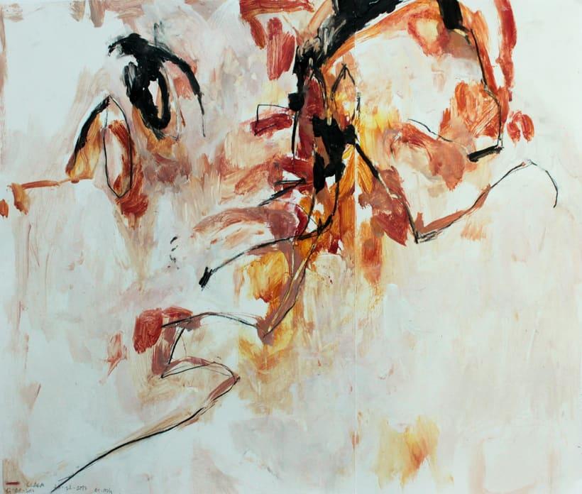 proyecto de pintura: Movimiento, cuerpo, dibujo 2