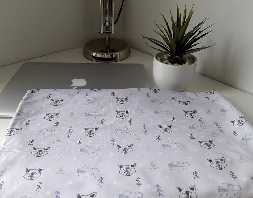 Pattern textil estilo nórdico. Mi Proyecto del curso: Motivos para repetir 0