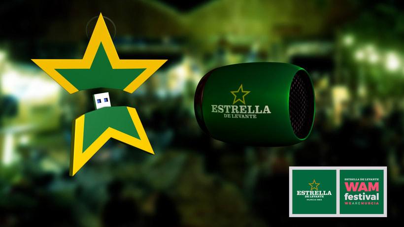 Estrella de Levante + Festival WAM - Regalo para evento de presentación 1