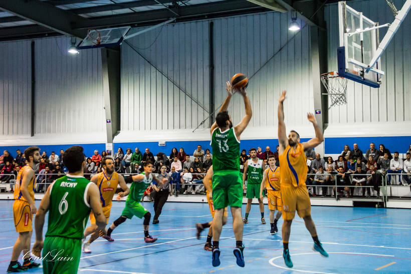 Clinica Podologica Arnaiz Avilés Sur vs Sanfer - 1ª Nacional Baloncesto Asturias 12