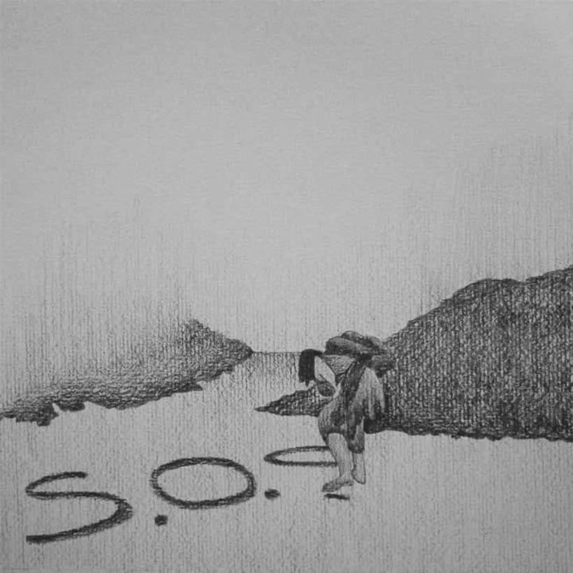 Reto de Dibujo de 30 Días - Mayo 2012 (Dibujos realizados en grafito) 9
