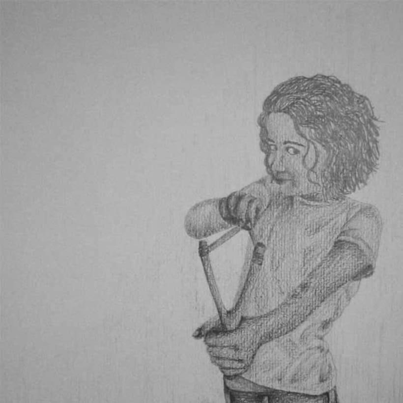 Reto de Dibujo de 30 Días - Mayo 2012 (Dibujos realizados en grafito) 25