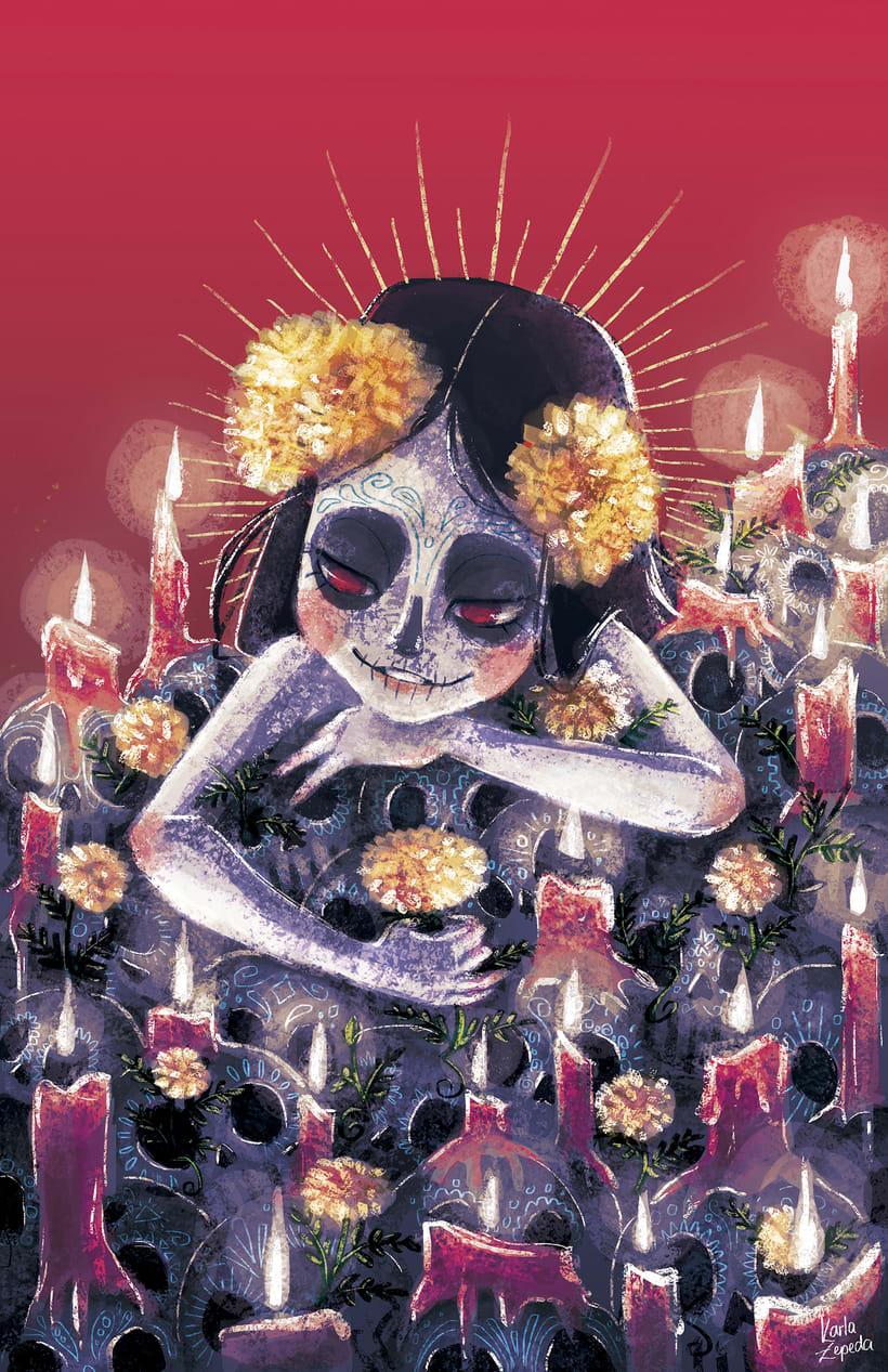 Muerte que contempla Vida, Vida que contempla muerte. -1