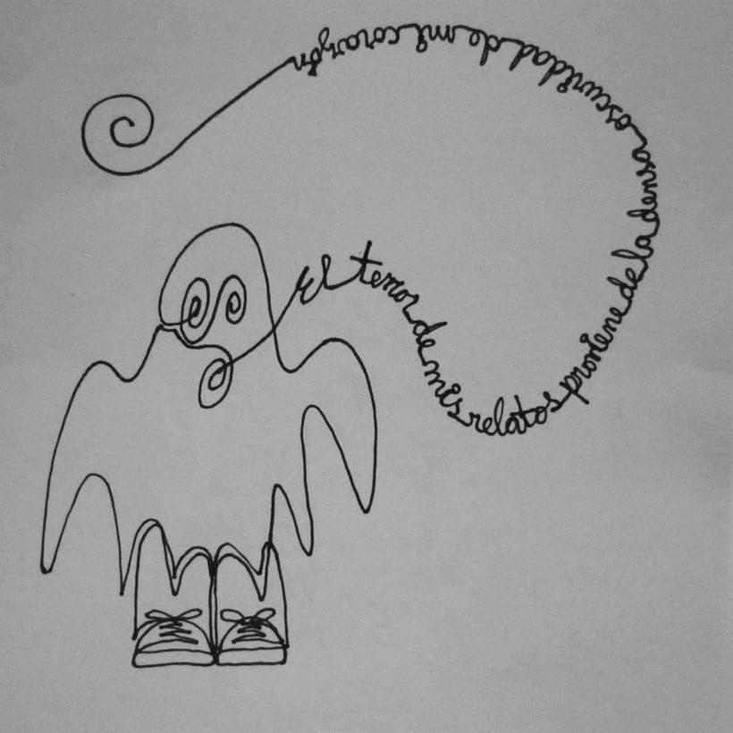 Reto de Dibujo de 30 Días - Mayo 2015 ( Dibujos realizados con una sola línea) 19