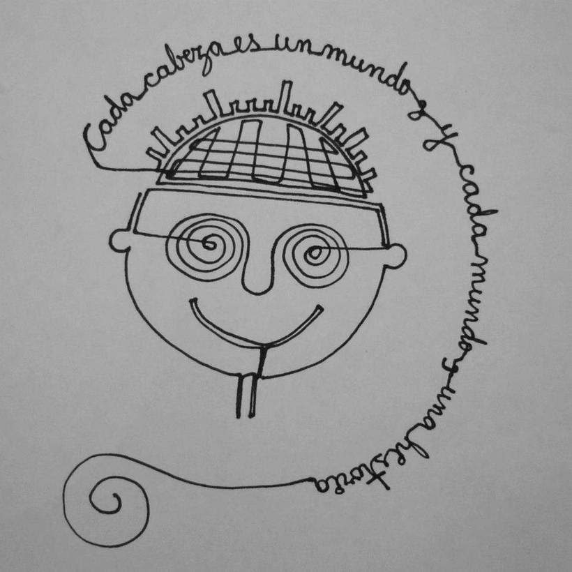 Reto de Dibujo de 30 Días - Mayo 2015 ( Dibujos realizados con una sola línea) 21