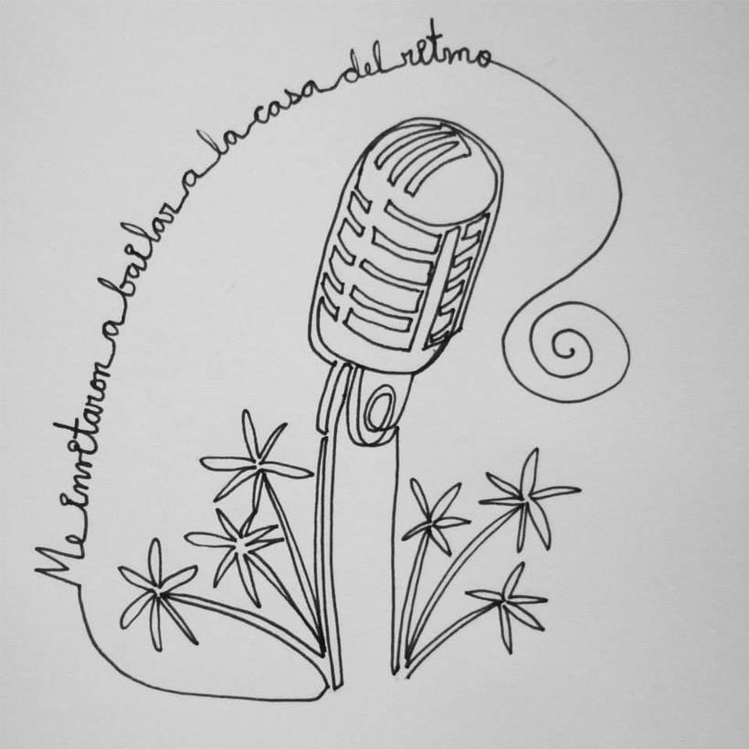 Reto de Dibujo de 30 Días - Mayo 2015 ( Dibujos realizados con una sola línea) 24