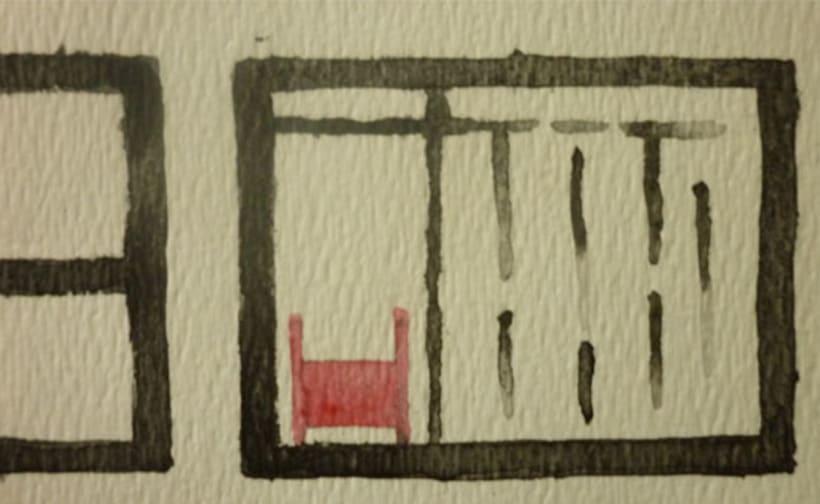 Reto de Dibujo de 30 Días - Mayo 2016 ( Dibujos realizados con aguada roja y negra) 1