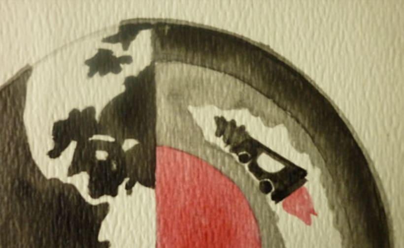 Reto de Dibujo de 30 Días - Mayo 2016 ( Dibujos realizados con aguada roja y negra) 9
