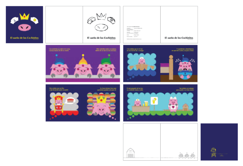 Colección de Cuentos para Cantar. Proyecto personal. 16