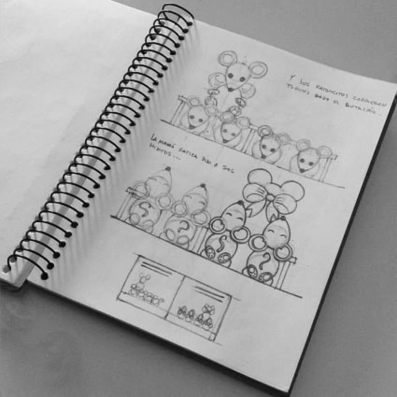 Colección de Cuentos para Cantar. Proyecto personal. 1