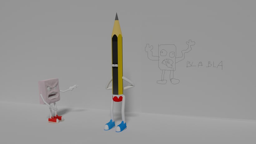 El lápiz artista -1