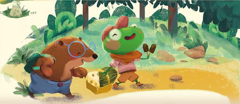 Ilustración infantil. SM editorial -1