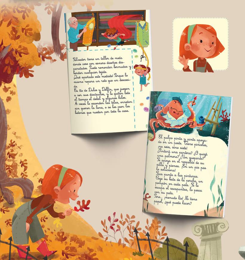 Ilustración infantil. SM editorial 4