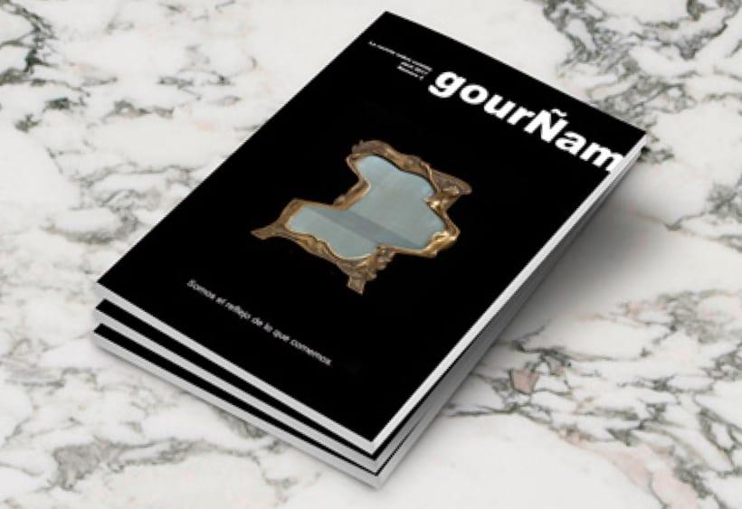 GourÑam, revista gastronómica 0