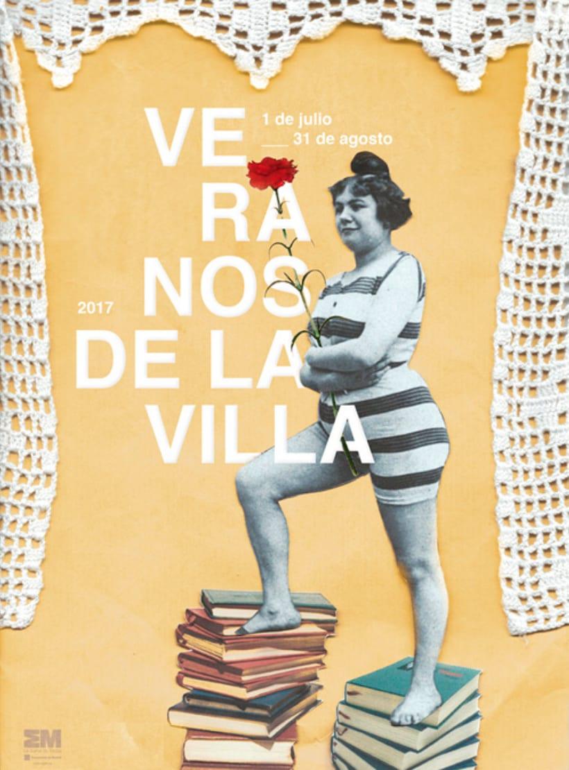 Cartel Veranos de la Villa 2016 -1