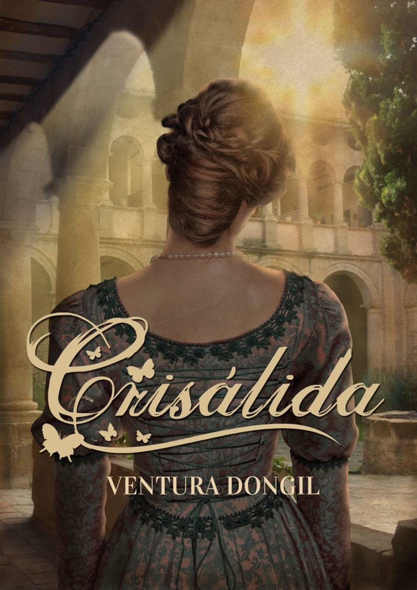 Cubierta nueva edición de la novela Crisálida -1