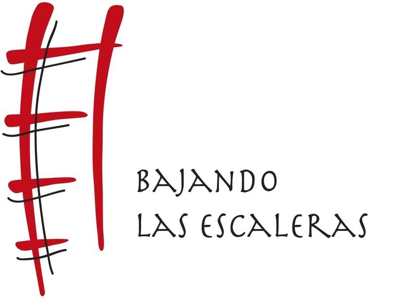 Proyecto, Logotipo Restaurante Bajando las Escaleras -1