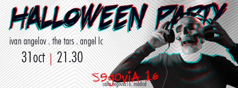 Cartel Fiesta Halloween 0
