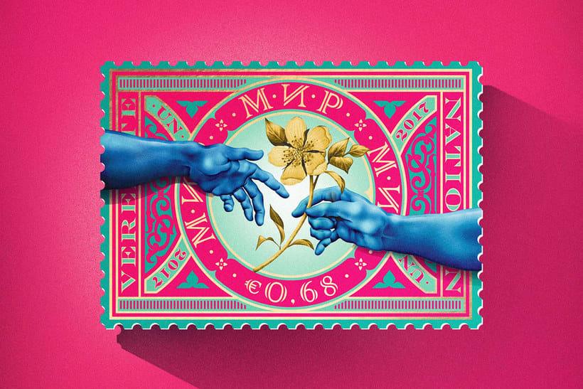 Sellos de diseño en favor de la Paz mundial 3