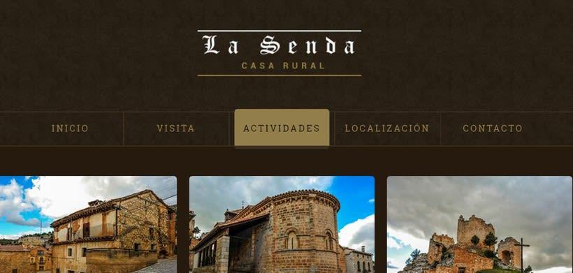 Web Casa Rural La Senda -1