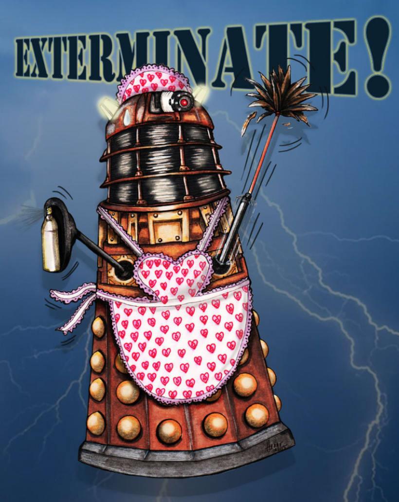 Colección DALEKS - Doctor Who 3